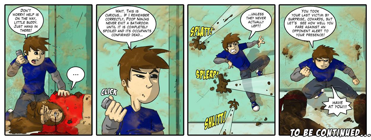 Final Smash: Part 2 - Poop Ninjas!